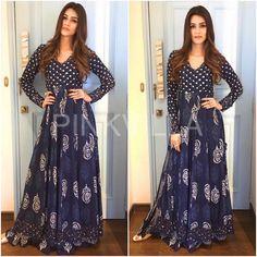 Yay or Nay : Kriti Sanon in Punit Balana Simple Gown Design, Fancy Dress Design, Pakistani Dresses, Indian Dresses, Indian Outfits, Simple Dresses, Casual Dresses, Fashion Dresses, Stylish Dresses