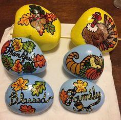 22 Best Thanksgiving Painted Rocks Images Painted Rocks