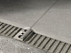 Brushed steel Flooring joint PROTERMINAL | Brushed steel Flooring joint - PROGRESS PROFILES