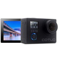 COTUO CS78 Notavek 96658 HD 30m Waterproof 2.0 Inch Screen 1080p 30fps 16MP Action Sport Cameraera