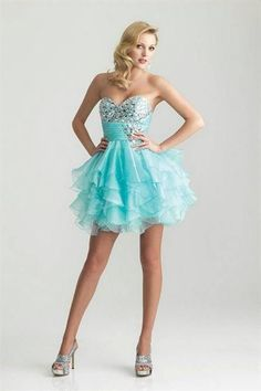 Awesome Girls short prom dresses Review