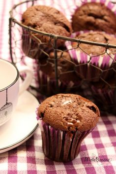 muffin chocolat praliné