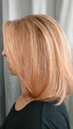 Rose gold highlights stefanos&fratzeskos coiffure
