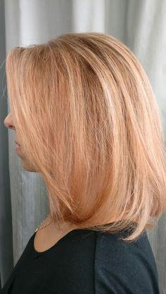 Rose gold highlights stefanos&fratzeskos coiffure