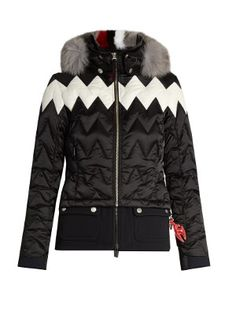 Maria fur-trimmed technical ski jacket | Toni Sailer | MATCHESFASHION.COM US