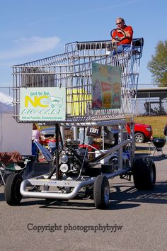 The NC Big Cart will wobble your wheels.