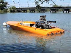 Unblown Flatbottom drag boat