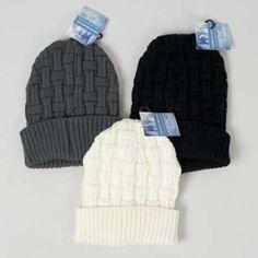 94b2c3f71ce wholesale Women s Basket Weaved Knit Hat