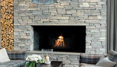 Rica Skifer Hotel i Oppdal, Norge - Oppdalskifer Brick And Stone, Home Pictures, Outdoor Fire, Concrete, Tiles, House Pics, Cabin Fever, Slate, Home Decor