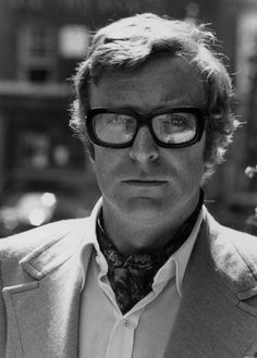 micheal caine - very picture of a refined gentleman