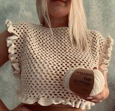 Crochet Pattern Free, Knitting Patterns, Crochet Patterns, Top Pattern, Crochet Basket Pattern, Pattern Design, Crochet Crop Top, Crochet Cardigan, Crochet Shirt
