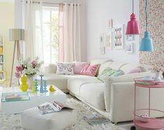 Bright living room repinned via Elena Smc
