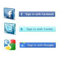 Facebook, Twitter, Google connections (3 in 1) - PrestaShop Module