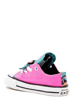 780c35e51d2b Image of Converse Chuck Taylor All Star Double Tongue Ox Sneaker (Baby    Toddler)