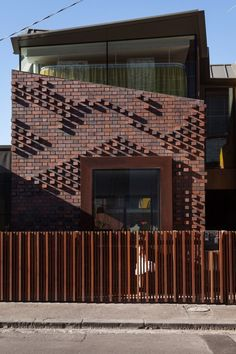 Brick extrerior home design ideas the archolic жилая архитектура, архитекту Brick Design, Facade Design, House Design, Brick Facade, Facade House, Architecture Design, Brick Projects, Brick Detail, Brick Texture