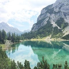 big mountain lake love  ~ Seebensee