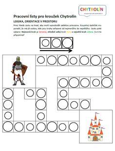 Červený klíček :: e-Chytrolín Diagram, Jars, Games, Thoughts