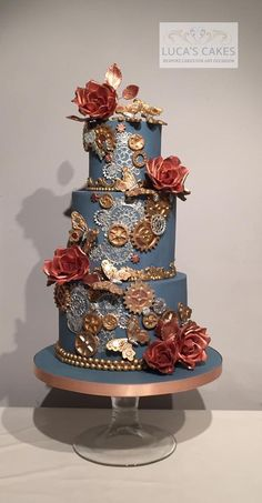 This is an awesome cake! Steam punk