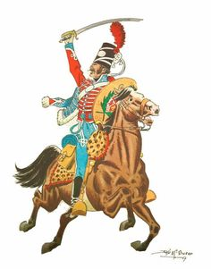 Húsares de Tejas 1804 Virreinato de Nueva España