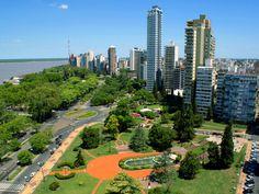 Vista de Rosario, Provincia de Santa Fe.   -lbk-