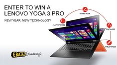 Enter to win a Lenovo Yoga 3 Pro