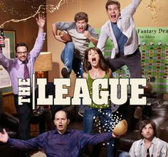 The League.. One of the funniest shows I've ever seen. Glad I discovered it last week. I'm addicted