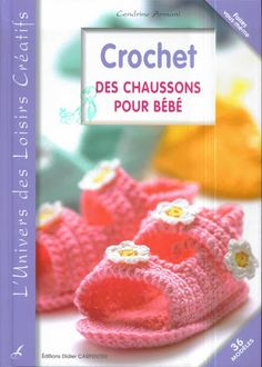 crochet - aew Suntaree - Álbuns da web do Picasa Knitting Books, Crochet Books, Knitting For Kids, Crochet For Kids, Baby Knitting, Free Crochet, Crochet Baby Shoes, Crochet Baby Booties, Crochet Slippers