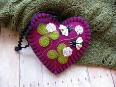 All+in+Clover+Ornament+++Ready+To+Ship+by+SandhraLee+on+Etsy,+$19.50