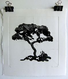 Sugar Lift Etching Dani Smith1 from a set of 5 - technically brilliant. The prints were ultimately so successful due to his perseverance when studying and drawing trees as well as total engagement and hours experimenting in the print room refining his understanding of process. Presently submitted for the RBA A Level show, Mall Galleries, London 2014 Truro College, Drawing Trees, Edgar Degas, Studying, Galleries, Mall, Moose Art, Sugar, London
