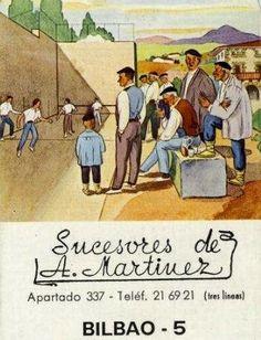 Sucesores A. Martinez.Bilbao,1974