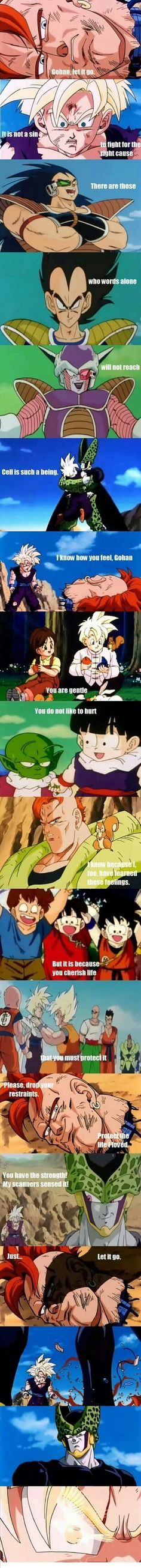 God, I love 16! <3 I believe he, too, was wished back by the Dragon Balls and is living as a forest ranger somewhere. <3