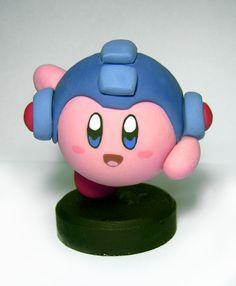 Kirby Megaman by vrlovecats.deviantart.com on @deviantART
