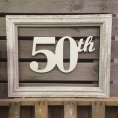 Wooden Numbers Birthday Sign Anniversary by ASimplePlaceOnMain