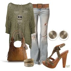 Super cute! Love the necklace and jeans