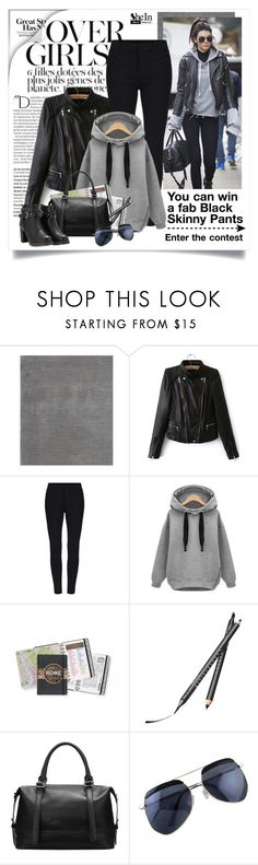 """""""Enter the contest here ⬇⬇⬇"""" by yexyka ❤ liked on Polyvore featuring Balmain, Prospect + Vine, Victoria's Secret, Chantecaille, women's clothing, women's fashion, women, female, woman and misses"""