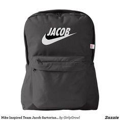 Nike Inspired Team Jacob Sartorius Bag Backpack