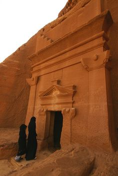 Mada'in Saleh is one of the best known archaeological sites in Saudi Arabia. It was once inhabited by the Nabataeans some 2000 years ago, Petra being the capital of the Nabataean kingdom.