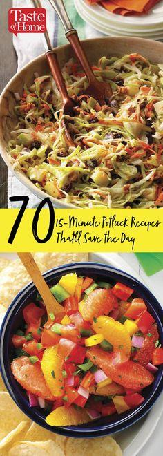 Summer recipes Potluck - The Best Potluck Recipes of All Time. Church Potluck Recipes, Potluck Dinner, Salad Recipes For Dinner, Appetizer Recipes, Potluck Ideas, Potluck Appetizers, Crockpot Potluck, Clean Eating Salads, Vegetarian Recipes