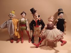 Schoenhut Circus Dolls