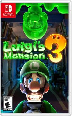 Luigi's Mansion 3 for Nintendo Switch - Nintendo Game Details Nintendo 3ds, Nintendo Console, Nintendo Switch System, Nintendo Switch Games, Super Nintendo, Nintendo Eshop, Mario Wii Games, Nintendo Switch Splatoon, Nintendo Switch Super Mario
