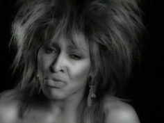 "Tina Turner ~ ""What's Love Got To Do With It"" (black & white version)"