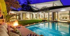 my villa holiday villa rentals bali canggu momentai 4bedrooms pool at night 666×343