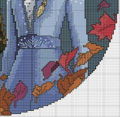 ELSA E ANNA - FROZEN 2 SCHEMA PUNTO CROCE Disney Cross Stitch Patterns, Anna Frozen, C2c, Crochet Crafts, Flower Crafts, Bujo, Knitting, Illustration, Cross Stitch Designs