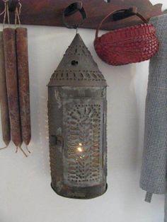 tiny light in the lantern...