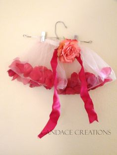 Rose petal tutu DIY Candace Creations: Tutorials