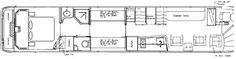 tour bus floor plans | Floor Plans