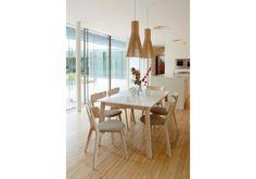 Jídelní rozkládací stůl #Narvik Dining Table, Furniture, Home Decor, Decoration Home, Room Decor, Dinner Table, Home Furnishings, Dining Room Table, Home Interior Design