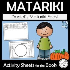 A set of six activity sheets for using with junior students after reading the following book: TITLE: Daniel's Matariki Feast AUTHOR: Rebecca Beyer and Linley Wellington ILLUSTRATOR: Christine Ross Included: ♦ Draw what you'd like to have for