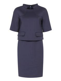 Купить со скидкой Brooks Brothers темно-синее платье с двумя боковыми карманами (142766) – распродажа в Боско Аутлет