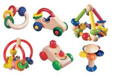 First Set of Baby's Toys – 6 Pieces